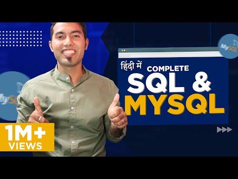 Complete SQL & MySQL in One Video in Hindi 2021🙏