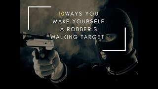10 Ways you make yourself a robber's walking target in Nairobi