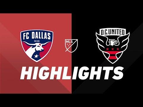 FC Dallas vs. D.C. United   HIGHLIGHTS – July 42019