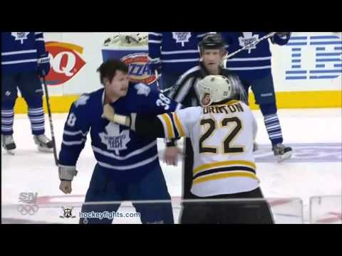 Shawn Thornton vs Jay Rosehill