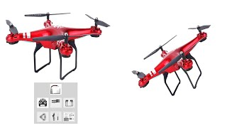 SH5HD FPV Drone with 1080P WIFI Camera RC Quadcopter Live Video Altitude 2 4GHz 4 Channels