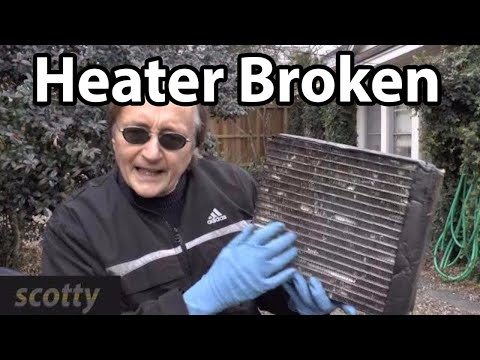 Fixing A Broken Car Heater By Flushing It