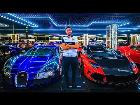 Dubai's Most Expensive Car Garage !!!