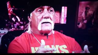 Hogan on Warrior making peace finding out he died