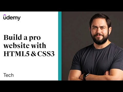 HTML5 & CSS Development: Learn How to Build a Professional Website | Udemy, Jordan Hudgens