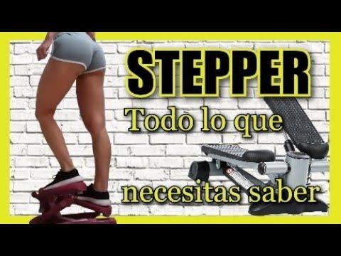 STEPPER!! TODO lo que necesitas saber para quemar CALORÍAS desde casa.