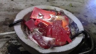 Melting Jewelry Into a Silver Bar - Video Youtube