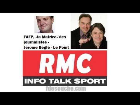 L'AFP est «la Matrice» selon le directeur adjoint du journal Le Point, Jérôme Béglé