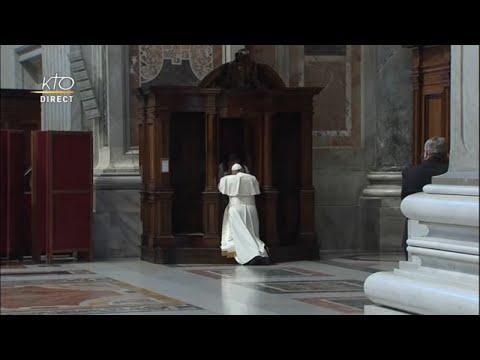 Célébration pénitentielle à Rome