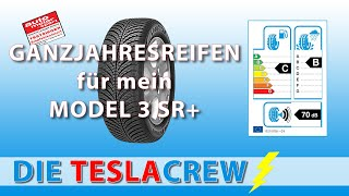 Tesla Model 3 SR+ | Umrüstung auf Ganzjahresreifen Goodyear Vector 4 Seasons
