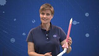 DIY Space: Stomp Rockets - Make The Rocket (Part 1)