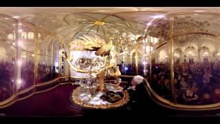 "Видео 360° | Государственный Эрмитаж, Часы ""Павлин"" | The State Hermitage, ""Peacock"" clock"