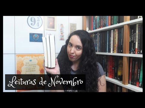 Vlog de Leituras de Novembro (2020) | Um Livro e Só