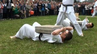 KARATE Kyokushin Pokaz Chojnik (MKK Gromnik, TKSK Tarnów)