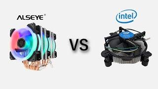 ALSEYE ST-90 vs Intel Stock Cooler [i5-2500K-2550K](Comparison / Karşılaştırma)