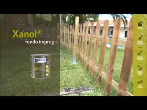 Pintar y proteger una valla de madera en el jardín con Isaval Xanol Lasures y Barnices.