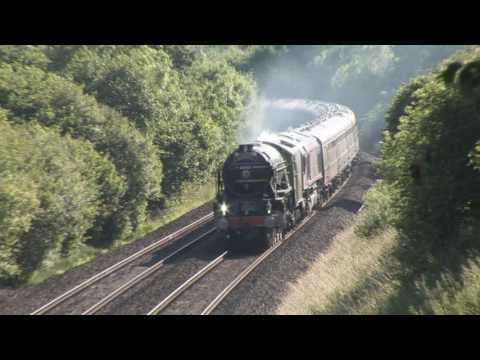 60163 'Tornado' in the West Country with 'The Torbay Express…