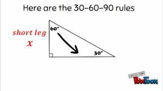 Special Right Triangle Intro