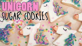 Magical Rainbow Pastel Unicorn Decorated Sugar Cookies On Kookievision