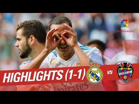 Resumen de Real Madrid vs Levante UD (1-1)