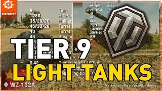 World of Tanks || T9 Light Tanks