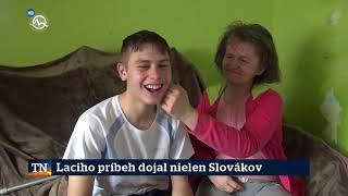 Laciho príbeh dojal nielen Slovákov - Ladislav Angyal