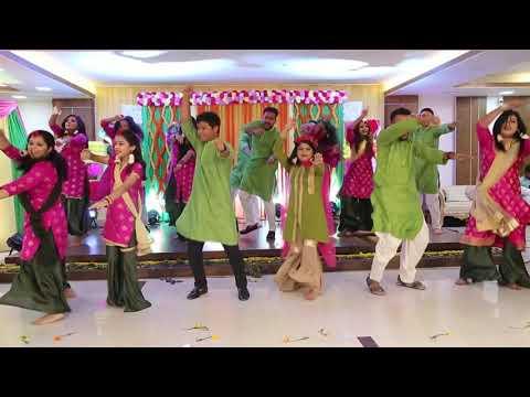 Teri Aakhya Ka Yo Kajal - Holud Dance Performance