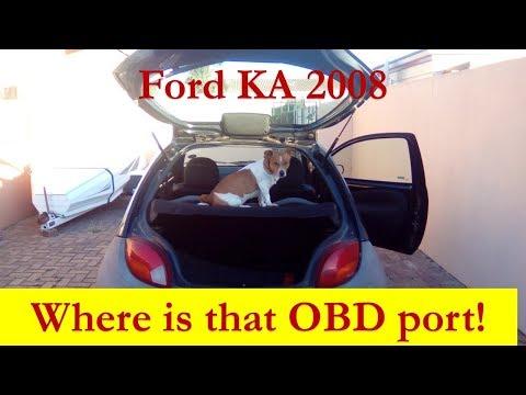 Ford Ka Location Of Diagnostic Plug Mp
