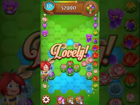 Blossom Blast Saga Level 1180