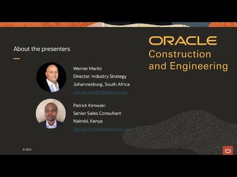 Introducing Oracle Aconex: A Common Data Environment (CDE ...