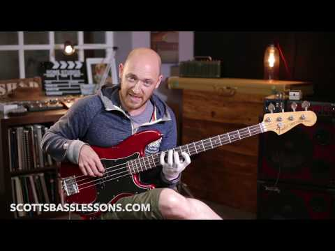 Killer Bass Exercise to Build Your Technique, Fluidity and Harmony Chops // Scott's Bass Lessons