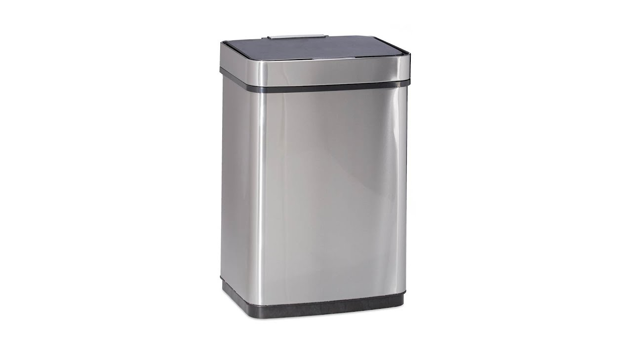 Mülleimer 50 Liter Edelstahl