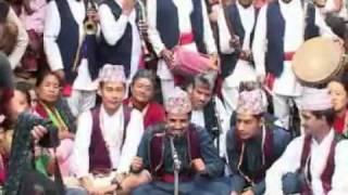"panche baja dohari 3(hq) ""Nepali Folk Song"" "" Panche Baja"""