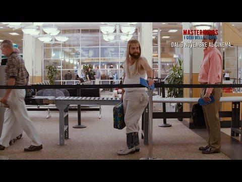 MASTERMINDS - I GENI DELLA TRUFFA - Controlli all'aeroporto - Clip dal film   HD