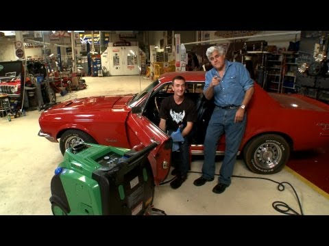 video:Detail Your Car - With Steam! - Jay Leno's Garage