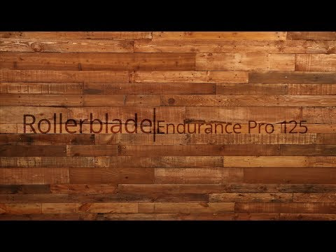Video: 2018 Rollerblade Endurance Pro 125 Inline Skate Overview by InlineSkatesDotCom