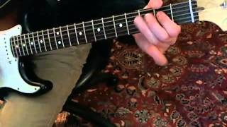 Joe Jackson - Friday - Guitar Lesson Part 2 of 2