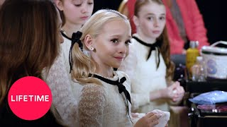 Dance Moms: Lilly Misses a Side Aerial in the Group Dance (Season 8, Episode 4)   Lifetime