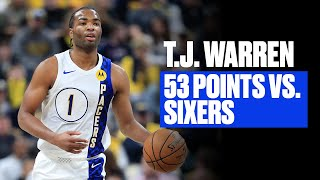 T.J. Warren Was Lights Out vs. Philly   Career-High 53 Points