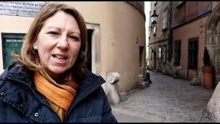 Verena introduces herself in Italian
