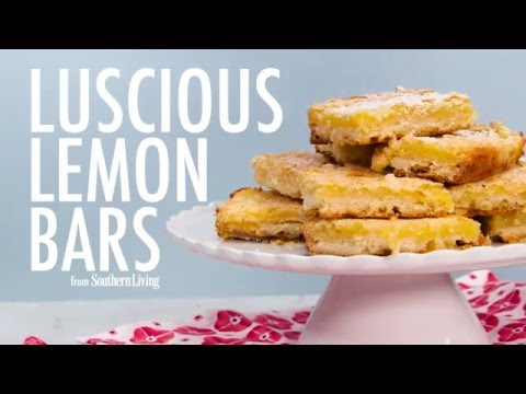How to Make Luscious Lemon Bars