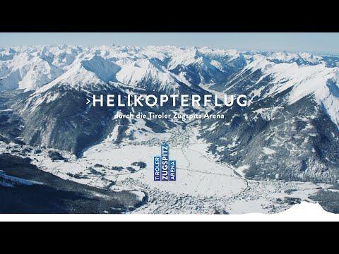 Luftaufnahmen aus der Tiroler Zugspitz Arena