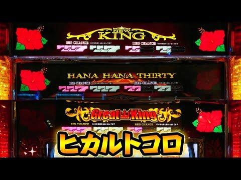 ハナハナシリーズのハイビスカスが咲くトコロの動画