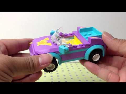 Vidéo LEGO Friends 3183 : Le cabriolet