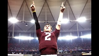 Johnny Manziel's Final Game at Texas A&M 💰INSANE COMEBACK!