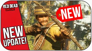 Today's NEW Red Dead Online Update! (Sun Gator and Teca Gator Legendary Animals)