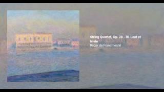 String Quartet, Op. 28