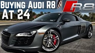 How I Bought An AUDI R8 At 24... For My Client!