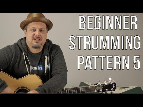 Beginner Strumming Patterns For Acoustic Guitar Pattern 5 - Beginner Guitar Lessons