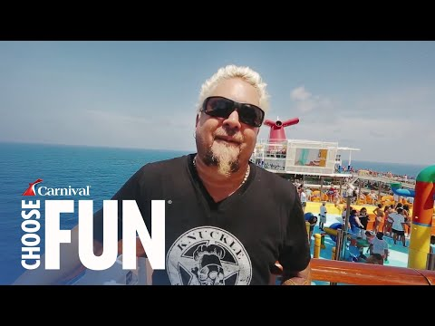 Guy Fieri's Family Vacation On Carnival | Carnival Cruise Line (w/ Audio Description) Mp3
